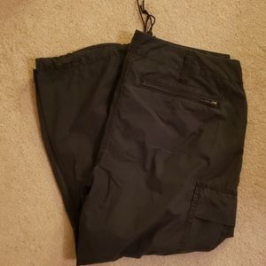 Express Cargo Capri Pants